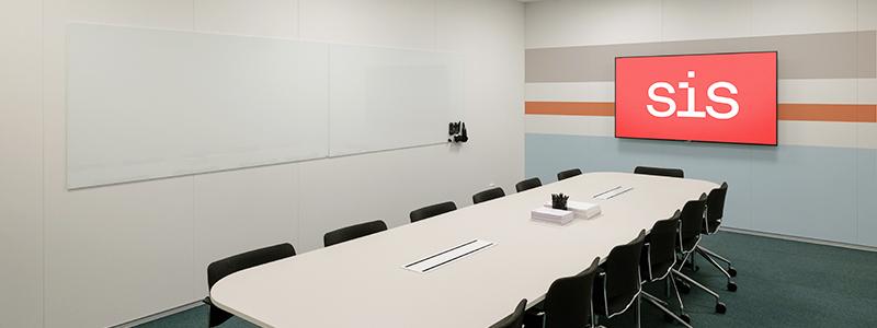 SIS Conference Centre - Boka konferenslokal Owen med plats för 14 personer