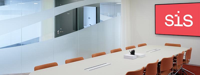 SIS Conference Centre - Boka konferenslokal von Platen med plats för 14 personer