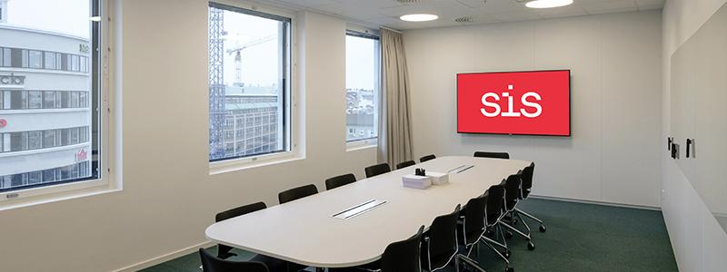 SIS Conference Centre - Boka konferenslokal Polhem med plats för 14 personer