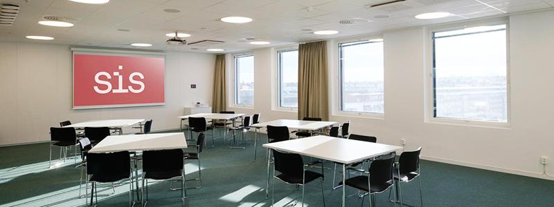 SIS Conference Centre - Boka konferenslokal Nobel med plats för 40 personer