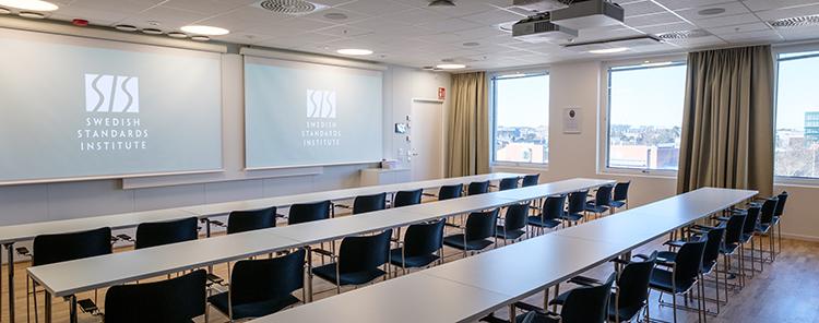 SIS Conference Centre - Boka konferenslokal Bruhn med plats för 50 personer