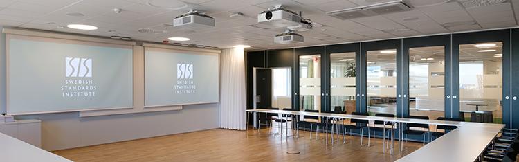 SIS Conference Centre - Boka konferenslokal Svartz med plats för 50 personer